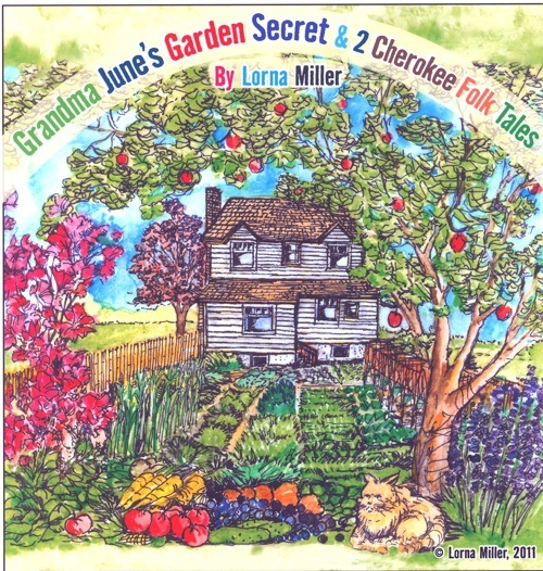 Grandma June's Garden Secret cover picture